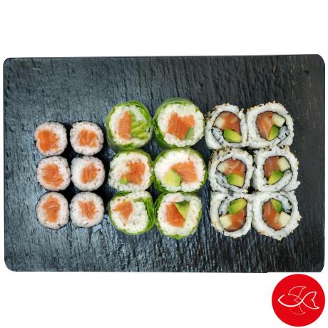 - Sushi Gourmet - California saumon & maki mixte