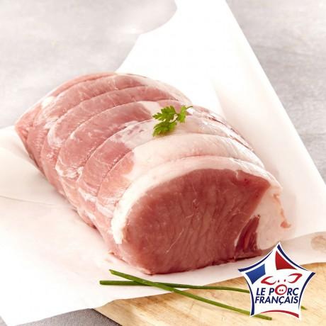 - Echine de porc sans os à rôtir