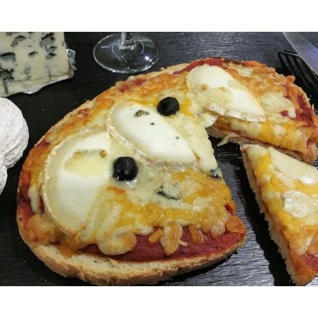 - Bruschetta aux 4 fromages
