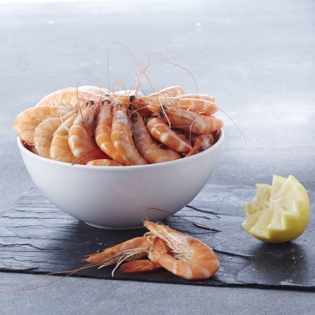 - Crevettes entières cuites50/70