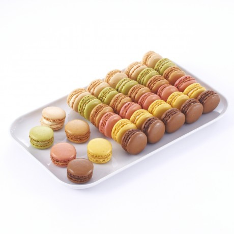 Macarons assortis 6 parfums