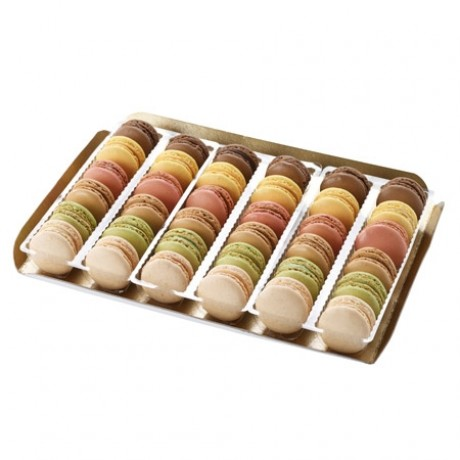 Macarons assortis 6 parfums