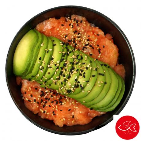 - Sushi Gourmet Riz tartare saumon avocat