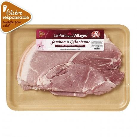 - Jambon blanc à l'ancienne Label Rouge Filière responsable Auchan