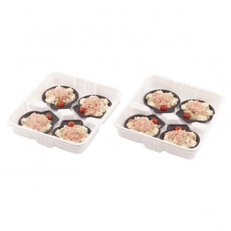 Coquille crabe, 170 g. Vendu par 8.