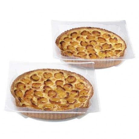 Tartes aux abricots - 2 pièces, soit 20 à 24 parts