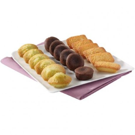 Mini-biscuits assortis X 18 - 3 recettes assorties