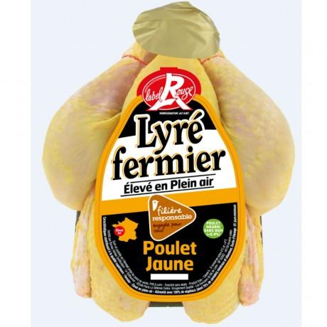 - Poulet fermier jaune de Lyré Label Rouge