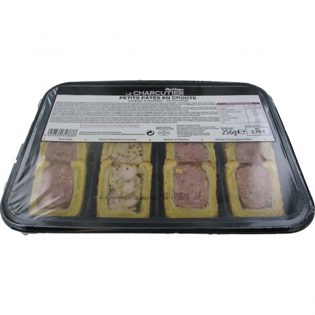 - Mini-pâtés en croûte apéritif