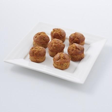 Mini-cakes au foie gras et à la figue