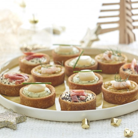 Assortiment de mini-tartes
