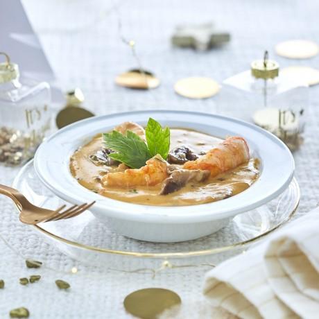 Cassolette langoustines