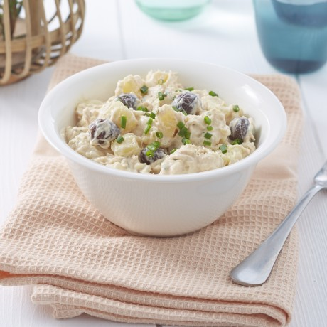 Salade du pêcheur, pommes de terre et thon