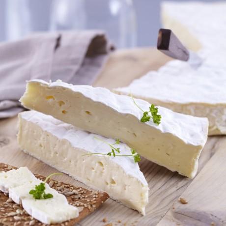 Roue de Brie entière, Label Rouge 1/2 affiné 2,5 kg maximum