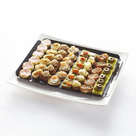 Mini canap s ap ritifs sal s recettes de r gions plateau for Canape aperitif