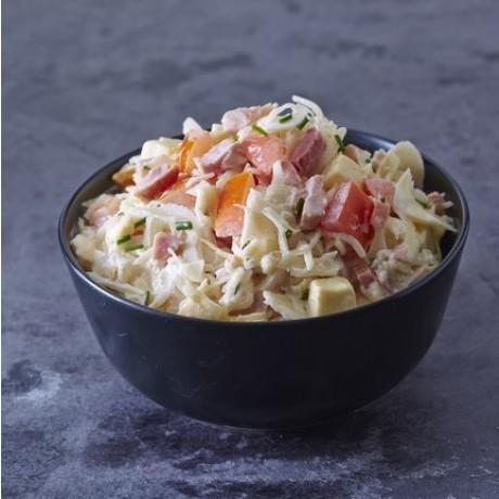 - Salade de choux blanc Jambon et comté