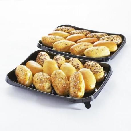 Mini-navettes apéritives garnies - Plateau de 12 Vendu par 2