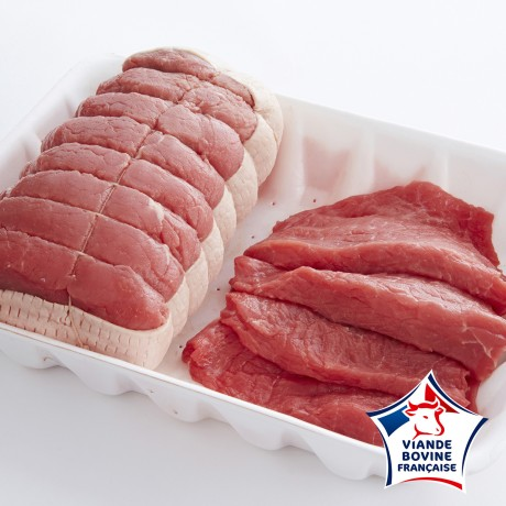 - Rôti** et steak** de boeuf à griller