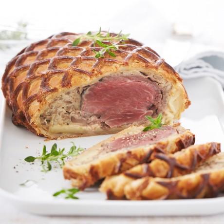 Filet De Boeuf En Croute A Cuire Auchan Traiteur