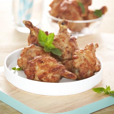 Ailes de poulet rôties