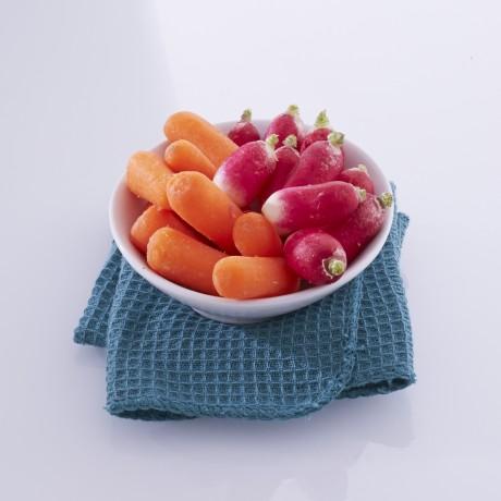 Baby carottes et radis