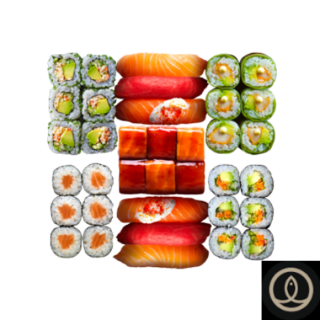 - Sushi shop - Box damier à partager