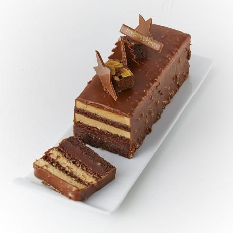 - Bûche brownies Chocolat lait
