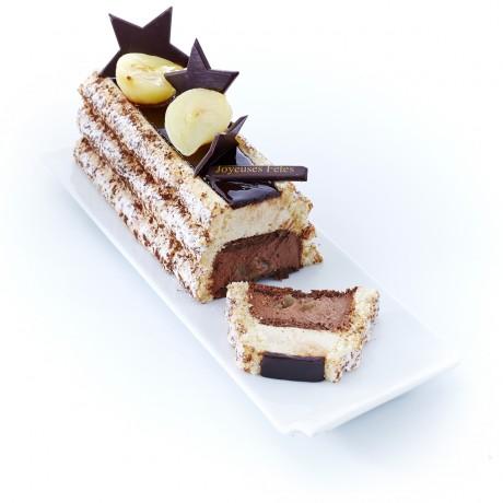 - Bûche Charlotte Chocolat poire