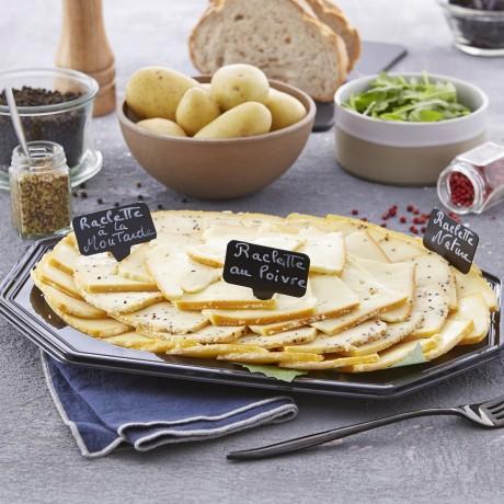 - Plateau de fromage à raclette tradition 5 personnes