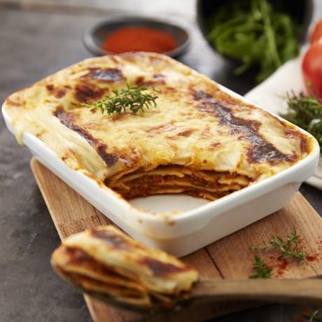 - Lasagnes à la bolognaise au boeuf