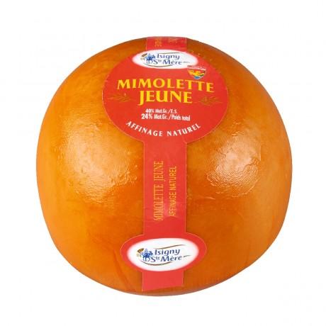 - Mimolette jeune Isigny Sainte Mère