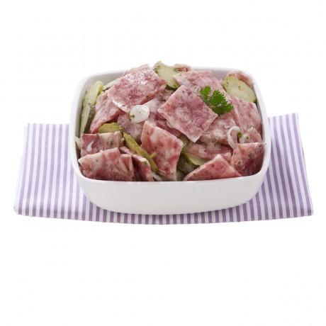 Salade de museau de porc à la Lyonnaise