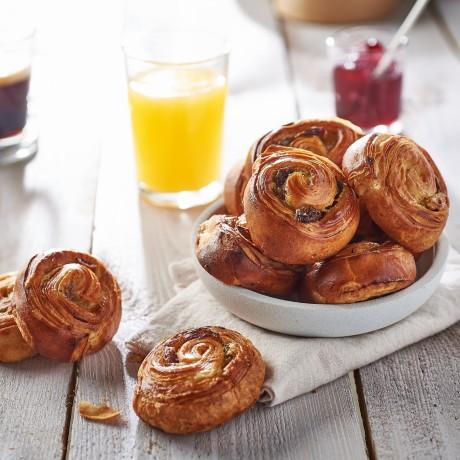 - Mini pains aux raisins pur beurre