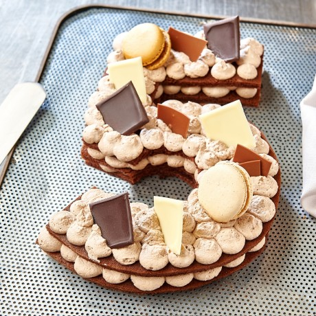 - Chiffre 5 Number cake chocolat