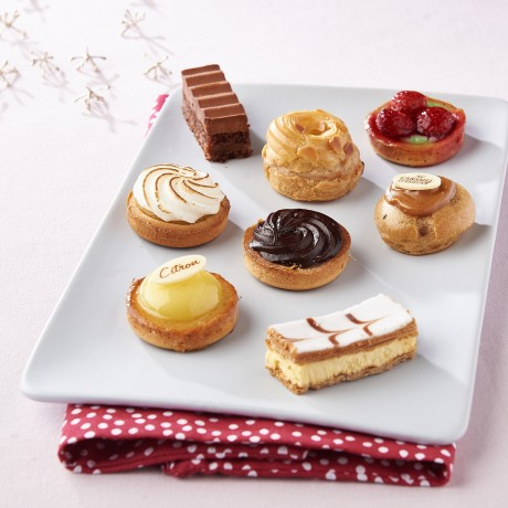 Mini gâteaux lunch