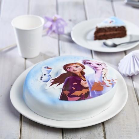 - Gâteau Reine des neiges 2