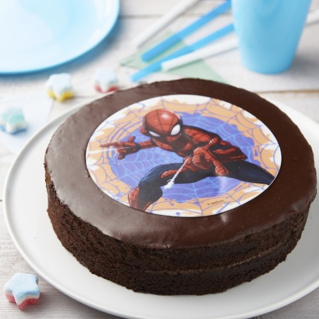 - Gâteau Spiderman