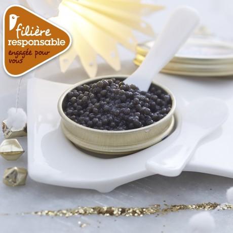 - Caviar d'Aquitaine coffret d'automne Filière responsable Auchan