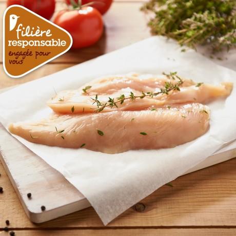 - Filet de poulet jaune de Lyré Bio Filière responsable Auchan
