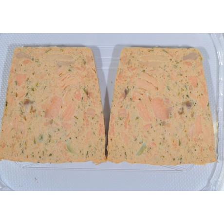 - Terrine aux 2 saumons