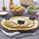 - plateau de fromage à Raclette découverte 4 personnes