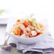 - Salade cocktail de crevettes surimi et ananas