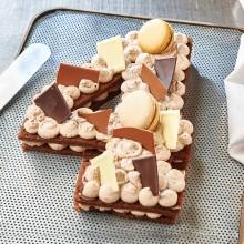 - Chiffre 4 Number cake chocolat