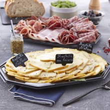 Plateau fromage et charcuterie raclette tradition 10 pers