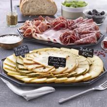 - Plateau fromage et charcuterie raclette découverte 4 pers