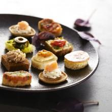 Mini-canapés apéritifs salés recettes des Régions