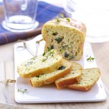 Cake Chèvre/courgette
