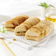 Mini pains préfou assortis festifs