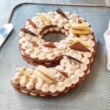- Chiffre 9 Number cake chocolat