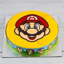 - Gâteau Super Mario